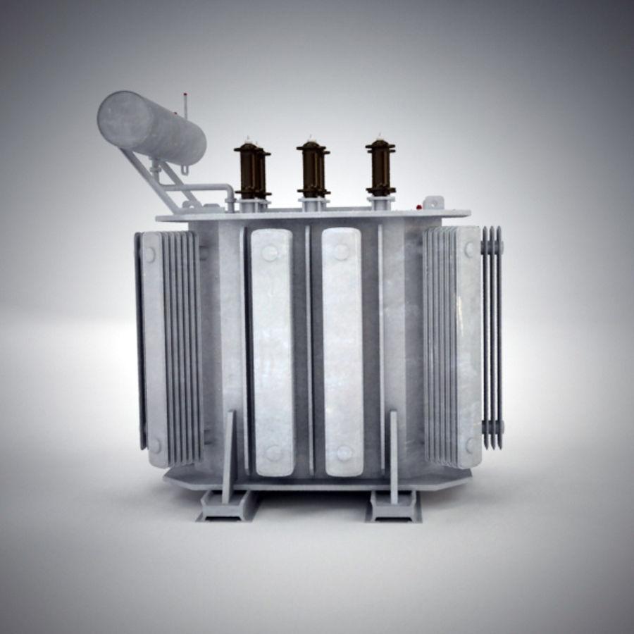 Transformer royalty-free 3d model - Preview no. 3