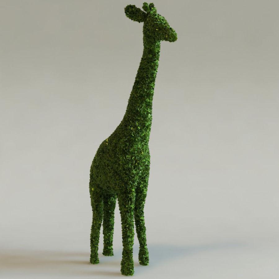 Buskar i form av djur royalty-free 3d model - Preview no. 3