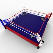 BoxingRing 3d model