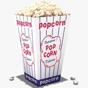 Popcorns 3d model