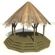 非洲建筑5 3d model