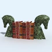 bookend horse 3d model