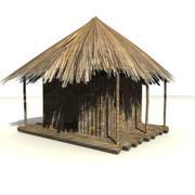 非洲建筑2 3d model