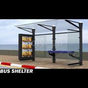 Abri bus 3d model