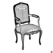 Chair old fashioned028.ZIP 3d model