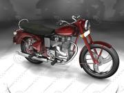 Enfield Bullet Bike 3d model