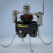 Spy Drone (MAV) 3d model