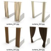 4_Curtains 3d model