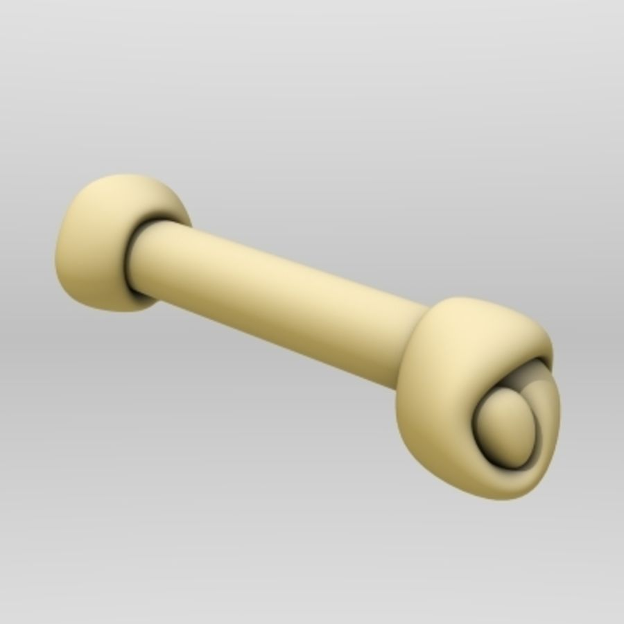 dogbone royalty-free 3d model - Preview no. 1