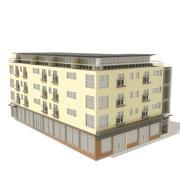 Büro 01 3d model