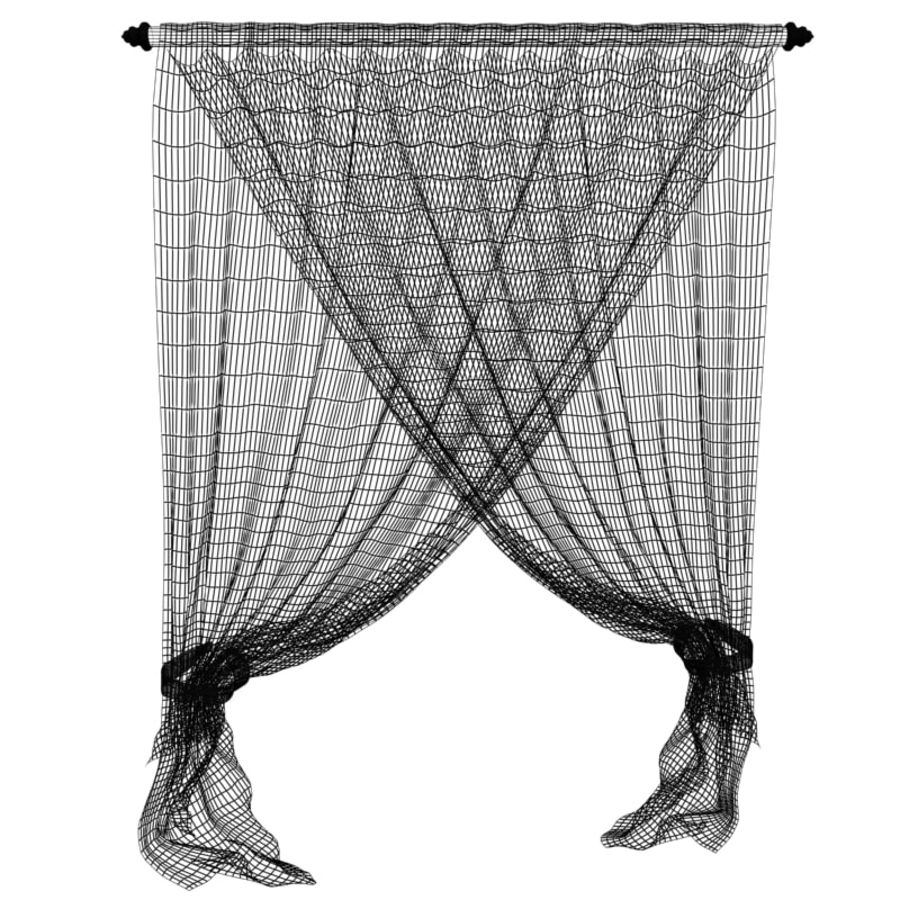 Crossed curtain royalty-free 3d model - Preview no. 5