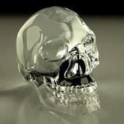 crystal skull 3d model