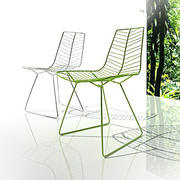 cadeira de folha 3d model