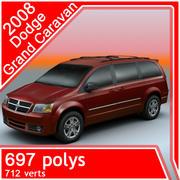 2008 Dodge Grand Caravan 3d model