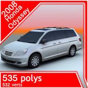 2008 Honda Odyssey 3d model