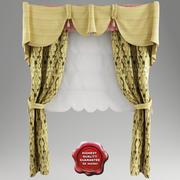 Roman curtain V1 3d model