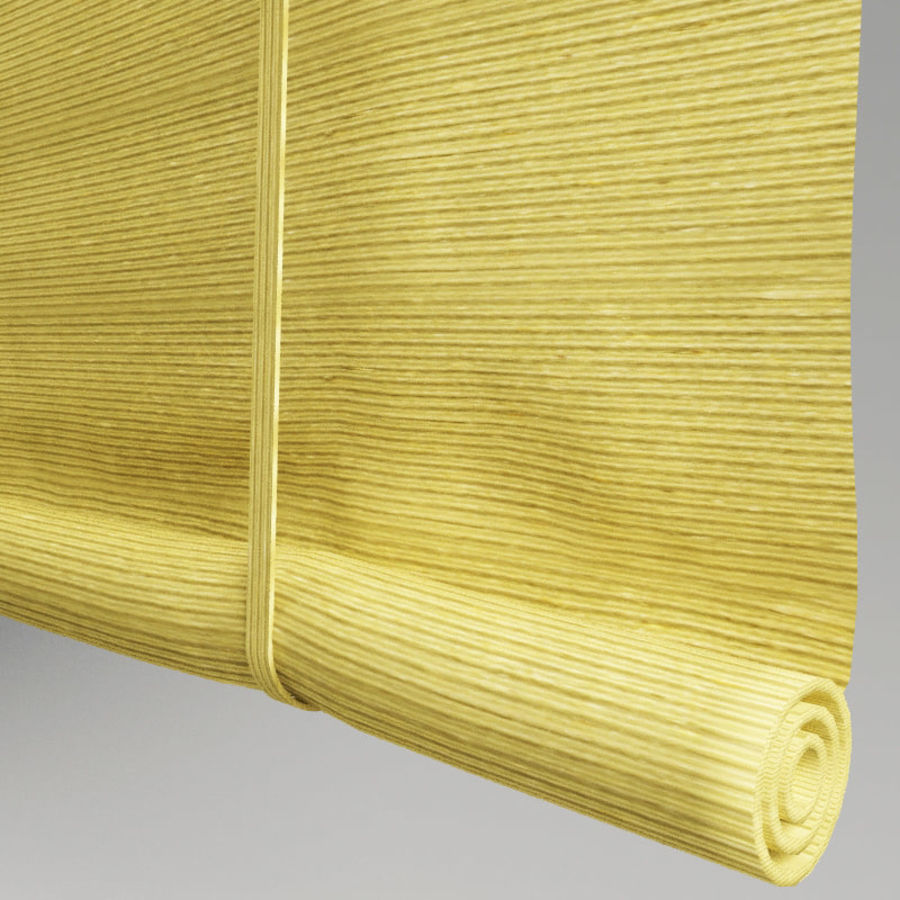 Roll curtain royalty-free 3d model - Preview no. 4