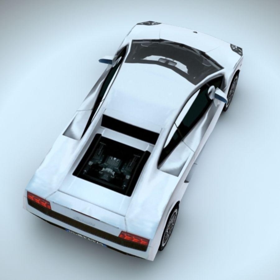 2009 Lamborghini-Gallardo LP560 royalty-free 3d model - Preview no. 3