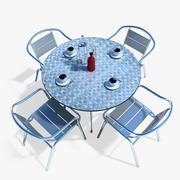 Tavolino da caffè 3d model