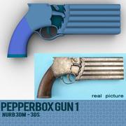 PEPPERBOX GUN #1 3d model