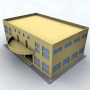 здание 014 3d model