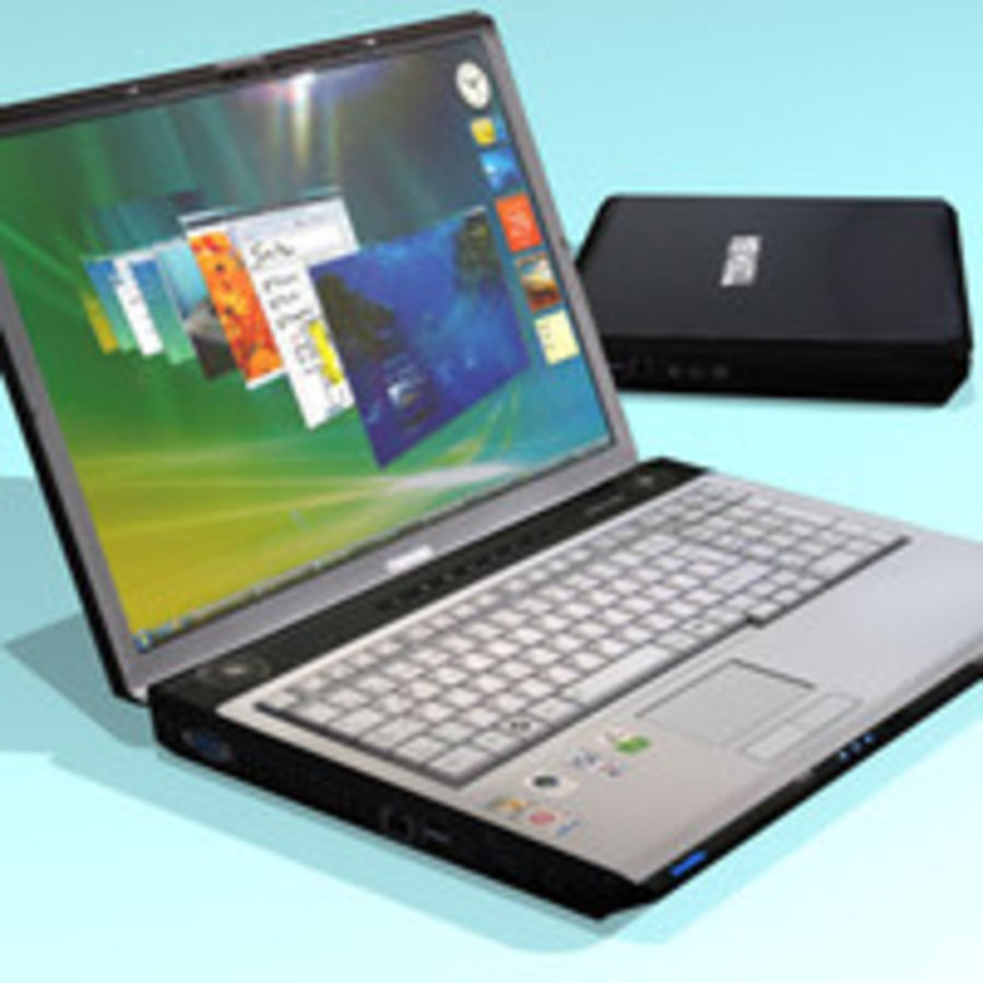 Notebook - Laptop royalty-free 3d model - Preview no. 1
