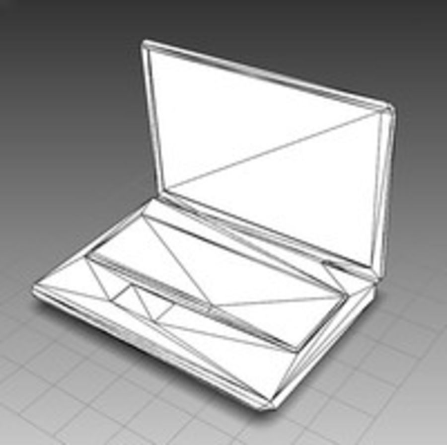 Notebook - Laptop royalty-free 3d model - Preview no. 6