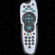 Sky Plus Remote Control (Low Poly) 3d model