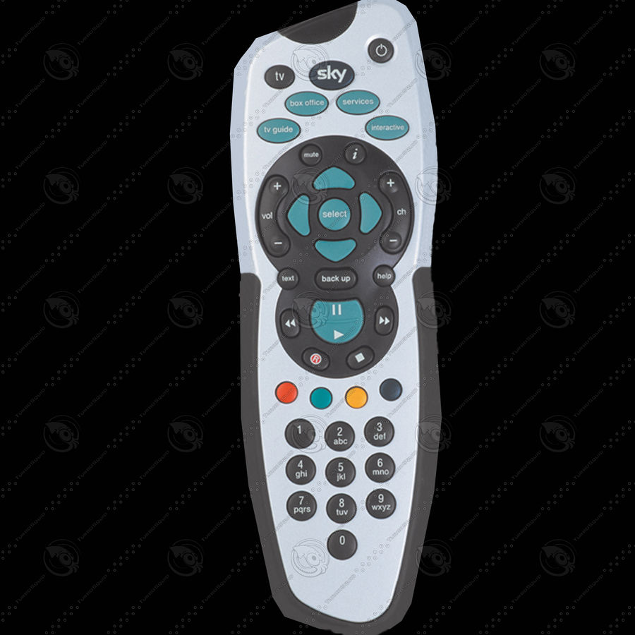 Sky Plus Remote Control (Low Poly) 3D Model $6 -  max - Free3D