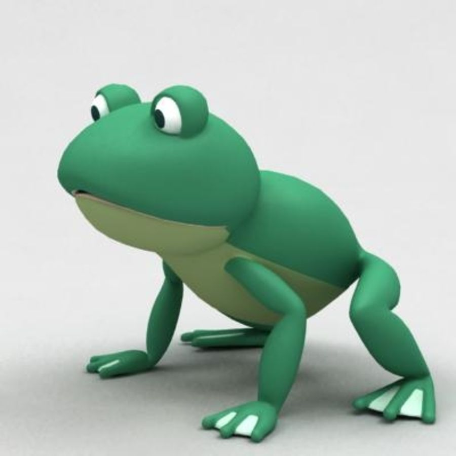 frog royalty-free 3d model - Preview no. 1