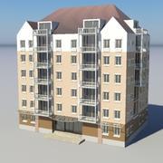 Building - 5 3d model