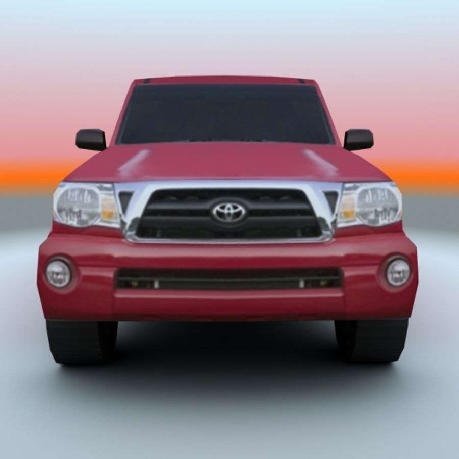 2009 Toyota Tacoma royalty-free 3d model - Preview no. 5