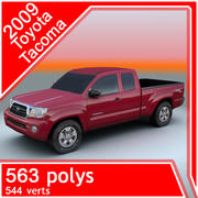 2009 Toyota Tacoma 3d model