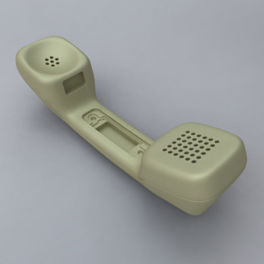 Teleco Phone royalty-free 3d model - Preview no. 1