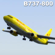 B737-800 Tui 3d model