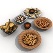 snack bowls 3d model