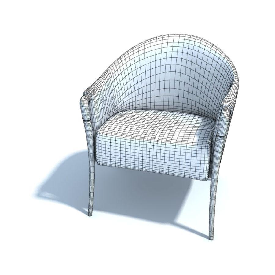 肘掛け椅子_ royalty-free 3d model - Preview no. 2
