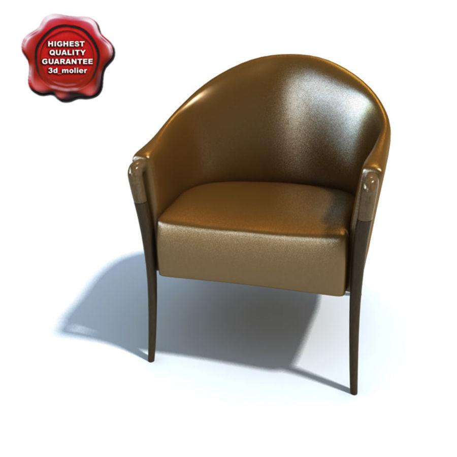 肘掛け椅子_ royalty-free 3d model - Preview no. 1