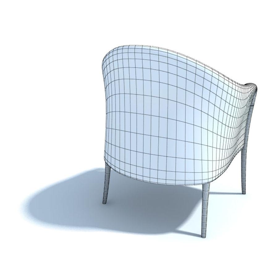 肘掛け椅子_ royalty-free 3d model - Preview no. 5
