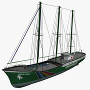 Green Peace Rainbow Warrior 3d model
