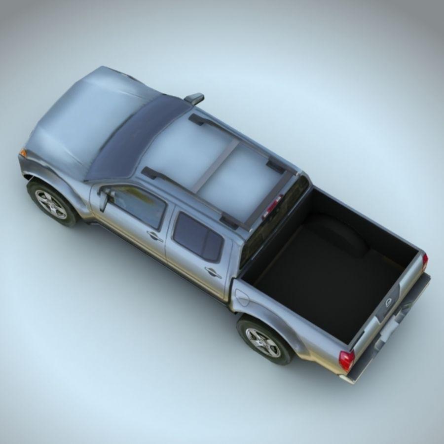 2008 년 닛산 프론티어 royalty-free 3d model - Preview no. 3