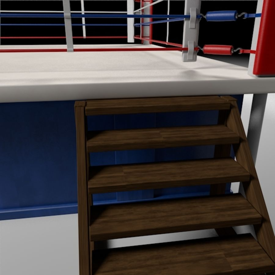 Box Arena royalty-free 3d model - Preview no. 5