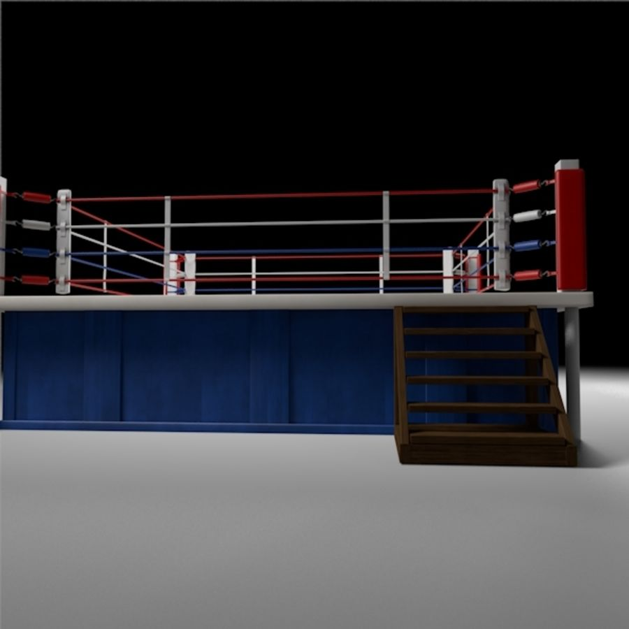 Box Arena royalty-free 3d model - Preview no. 9