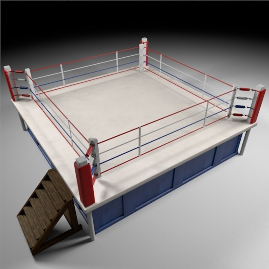 Box Arena royalty-free 3d model - Preview no. 1