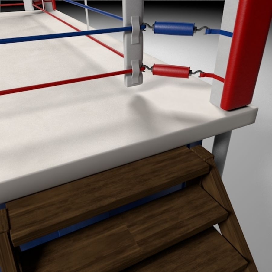 Box Arena royalty-free 3d model - Preview no. 12