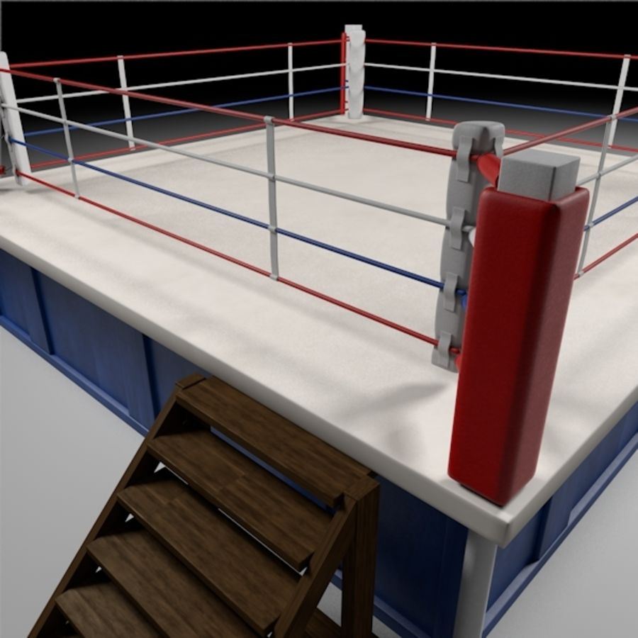 Box Arena royalty-free 3d model - Preview no. 3