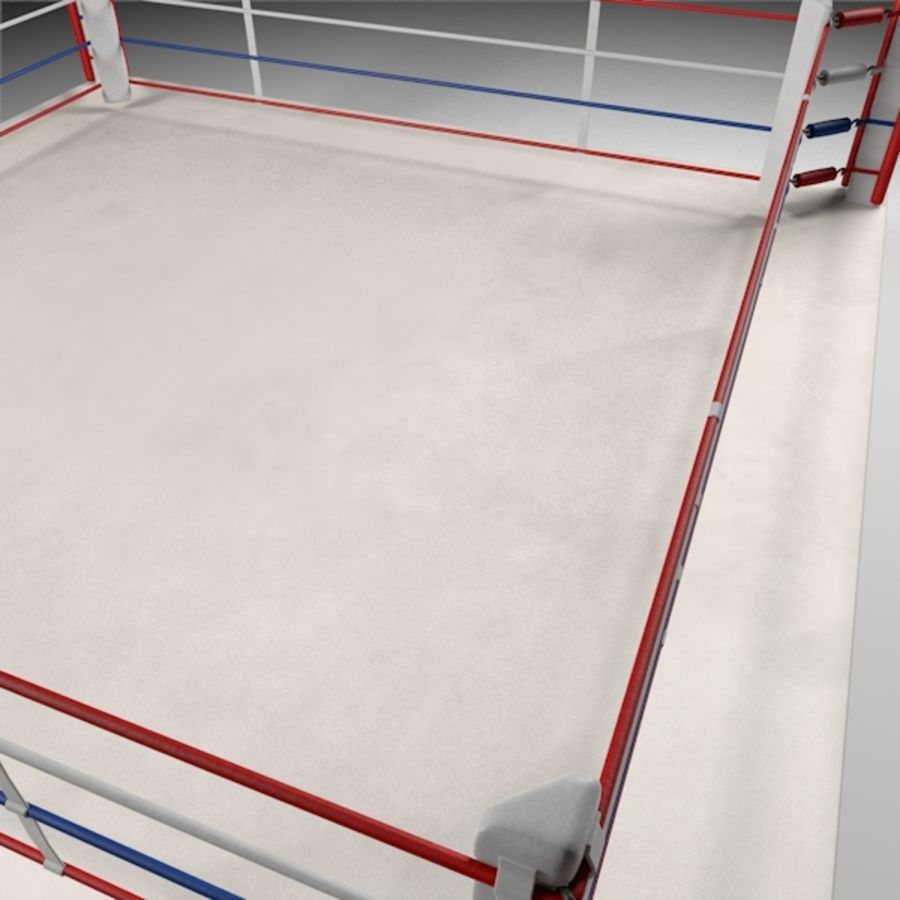 Box Arena royalty-free 3d model - Preview no. 13