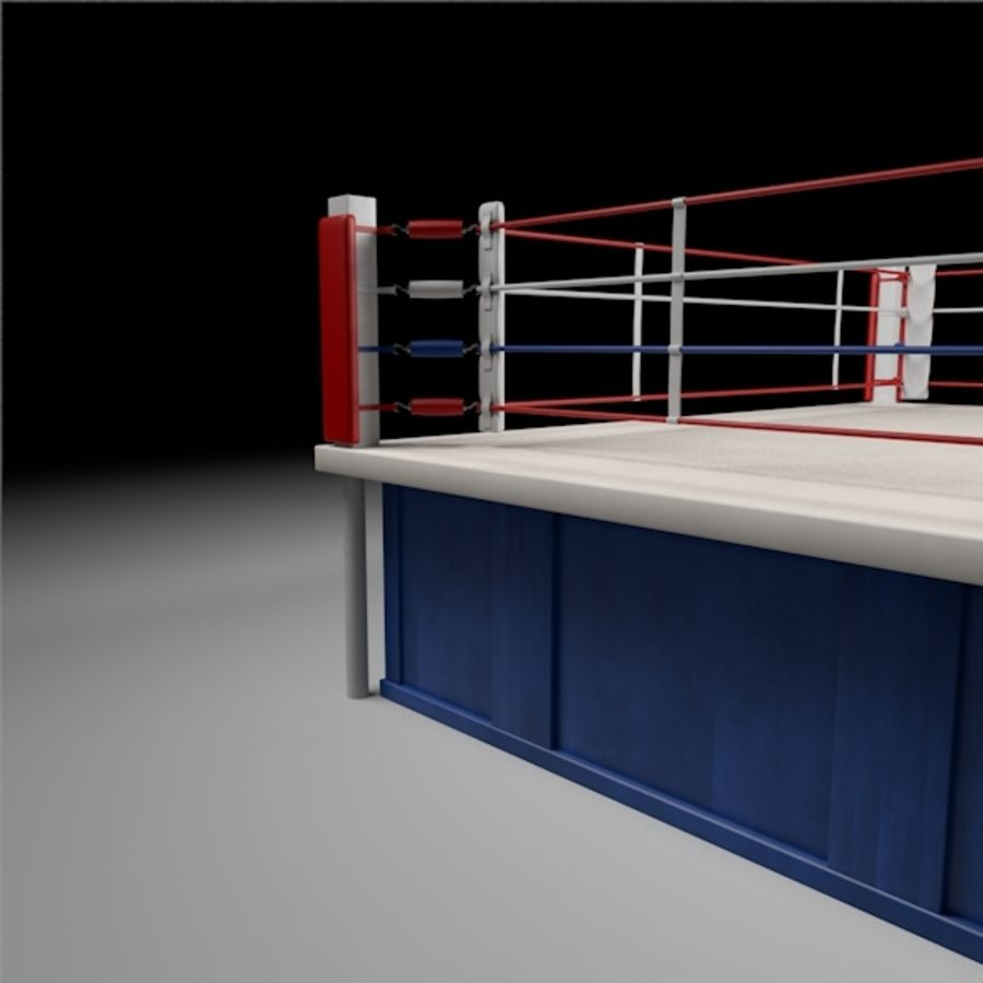 Box Arena royalty-free 3d model - Preview no. 8