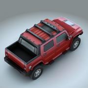 2009 Hummer H2 SUT 3d model