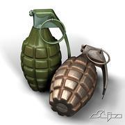 grenade MK2 3d model